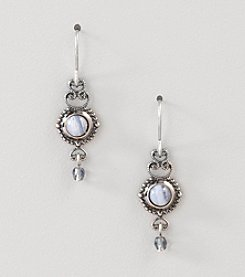 Silver Forest® Blue Lace Agate Earrings