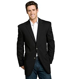 Calvin Klein Men's Black Big & Tall Blazer