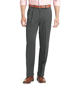 IZOD® Men's Big & Tall Classic Fit Pleated Ultimate Travel Pants