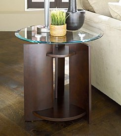 Hammary® Apex Round End Table