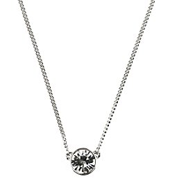 Givenchy® Crystal Pendant Necklace