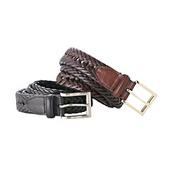 John Bartlett Statements Braided Casual Belt