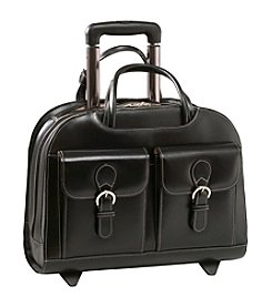 McKlein Davis Ladies' Wheeled Laptop Case