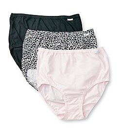 Jockey® Elance® 3-Pack Extended Sizes Briefs