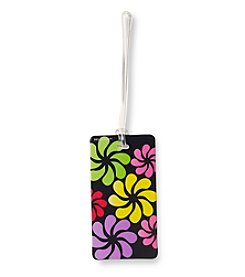 Lewis N. Clark® Belle Hop® Black Floral Fashion Luggage Tag