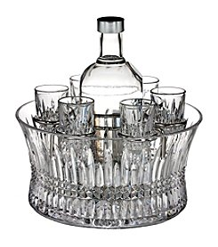 Waterford® Lismore Diamond Vodka Set in Chill Bowl