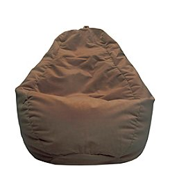 Gold Medal Large  Micro-Fiber Suede Bean Bag