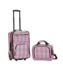 Rockland® 2-pc. Cross Luggage Set