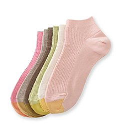 GOLD TOE® 6-pk. Ribbed Low Cut Socks