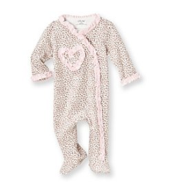 Little Me® Baby Girls' Pink Leopard Footie
