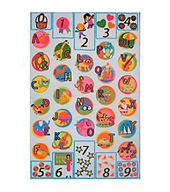 Fun Rugs® Fun Time® Now I Know My ABC's Rug