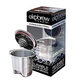 Ekobrew Elite Stainless Steel Reusable Filter for Single Cup Brewers