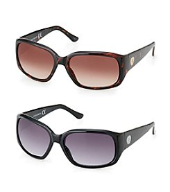 Vince Camuto™ Mid-Size Plastic Rectangle Sunglasses