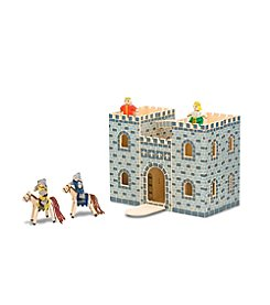 Melissa & Doug® Fold and Go Castle Play Set