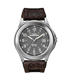 Timex® Men's Expedition Metal Field With Charcoal Dial