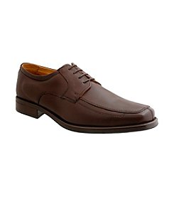Giorgio Brutini® Men's Moc-toe Sheepskin Leather Dress Oxford