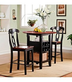 Home Interior 3-pc. Storage Bistro Set