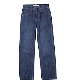 Levi's® 550™ Boys' 8-20 plus Husky Sizes Relaxed Denim Blue Jeans
