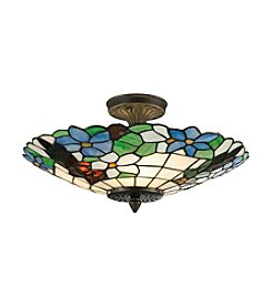 Dale Tiffany Wisteria Flush Mount Ceiling Lamp
