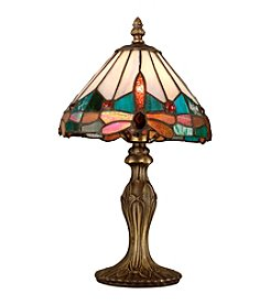 Dale Tiffany Jewel Dragonfly Accent Table Lamp