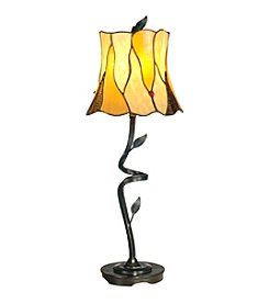 Dale Tiffany Twisted Leaf  Buffet Table Lamp