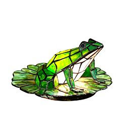 Dale Tiffany Frog Lily Pad Accent Lamp