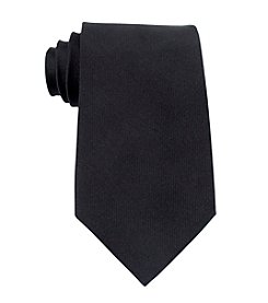 Kenneth Cole REACTION® Men's Black Darien Solid Silk Tie