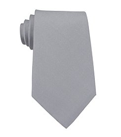 Kenneth Cole REACTION® Men's Silver Darien Solid Silk Tie