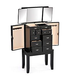 Acme Tiren Black Jewelry Armoire