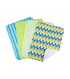Trend Lab 4-pk. Levi Burp Cloth Set