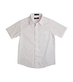 French Toast® Boys' 2T-20 Short Sleeve Classic Dress Shirt