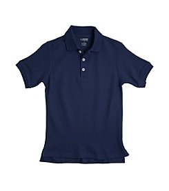 French Toast® Boys' 2T-20 Navy Short Sleeve Pique Polo