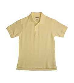 French Toast® Boys' 2T-20 Yellow Short Sleeve Pique Polo
