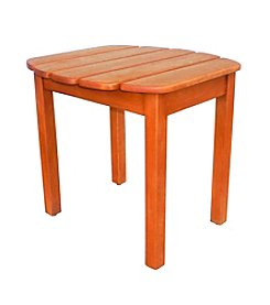 International Concepts Oiled Finish Solid Wood Side Table