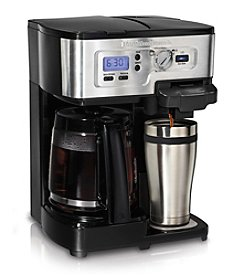 Hamilton Beach® 2-Way FlexBrew 12-cup and Single-Serve Coffeemaker
