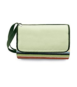 Picnic Time® Striped Riviera Water-resistant Blanket in Compact Carry Tote