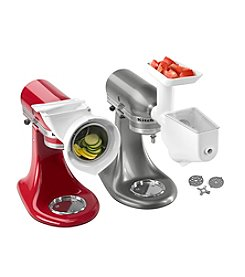 KitchenAid® FPPA 3-pc. Grinder, Slicer & Strainer Attachment Set