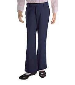 French Toast® Girls' 4-16 Navy Adjustable Waist Pants