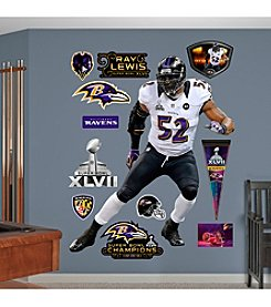 NFL® Baltimore Ravens Ray Lewis (Super Bowl) Wall Graphic