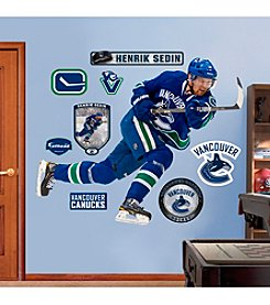 NHL® Vancouver Canucks Henrik Sedin Wall Graphic by Fathead®