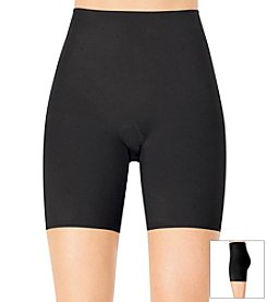 ASSETS® Red Hot Label™ by Spanx Black Flipside Mid-Thigh Firmer
