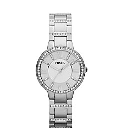 Fossil® Women's 30mm Virginia Stainless Steel Watch
