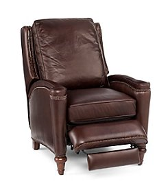 Hooker® Furniture Valencia Brown Leather Recliner