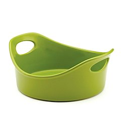 Rachael Ray®  Stoneware 1.5-qt. Green Round Open Baker