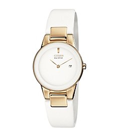 Citizen® Women's Eco-Drive Stainless Steel Axiom Strap Watch