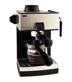 Mr. Coffee® 4-Cup Steam Espresso & Cappuccino Maker