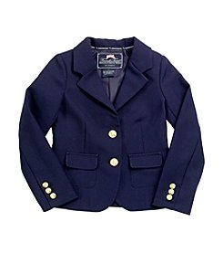 French Toast® Girls' 4-20 Navy Dress Blazer