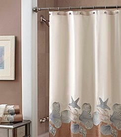 Croscill® Shells Ashore Shower Curtain