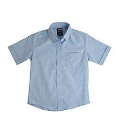 French Toast® Boys' 2T-20 Short Sleeve Oxford Shirt