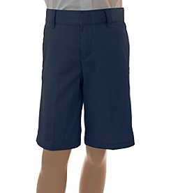 French Toast® Boys' 4-20 Flat Front Adjustable Waist Shorts